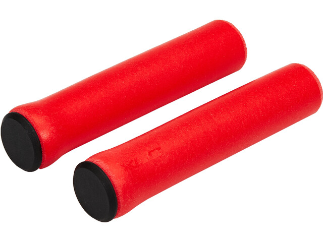 XLC GR-S31 Silicone Grips, rojo